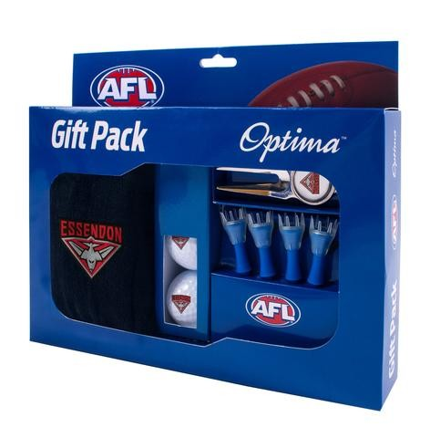 ESSENDON OFFICIAL AFL GOLF GIFT PACK