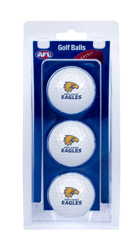 WEST COAST OFFICIAL GOLF BALL - 3 PACK