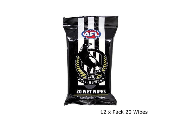 COLLINGWOOD WET WIPES