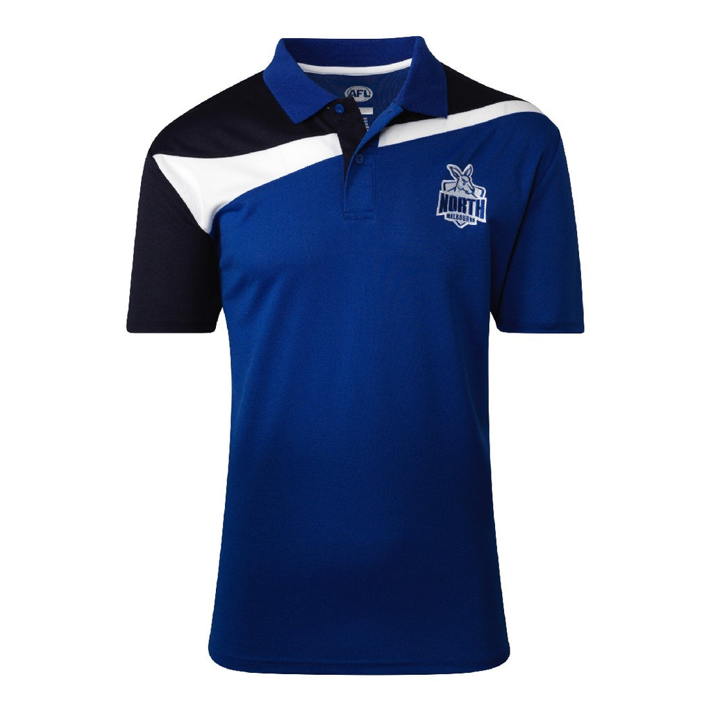 NORTH MELBOURNE MENS PREMIUM POLO
