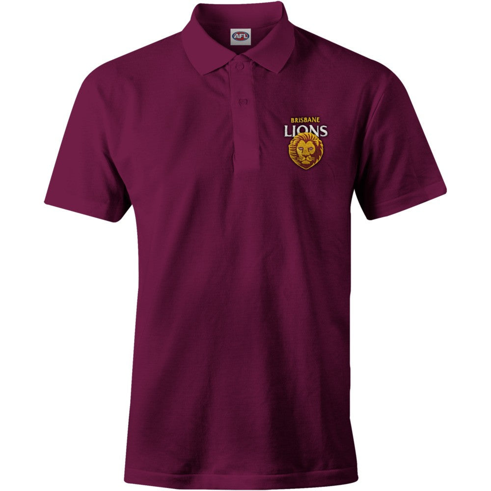 BRISBANE LIONS MENS POLO