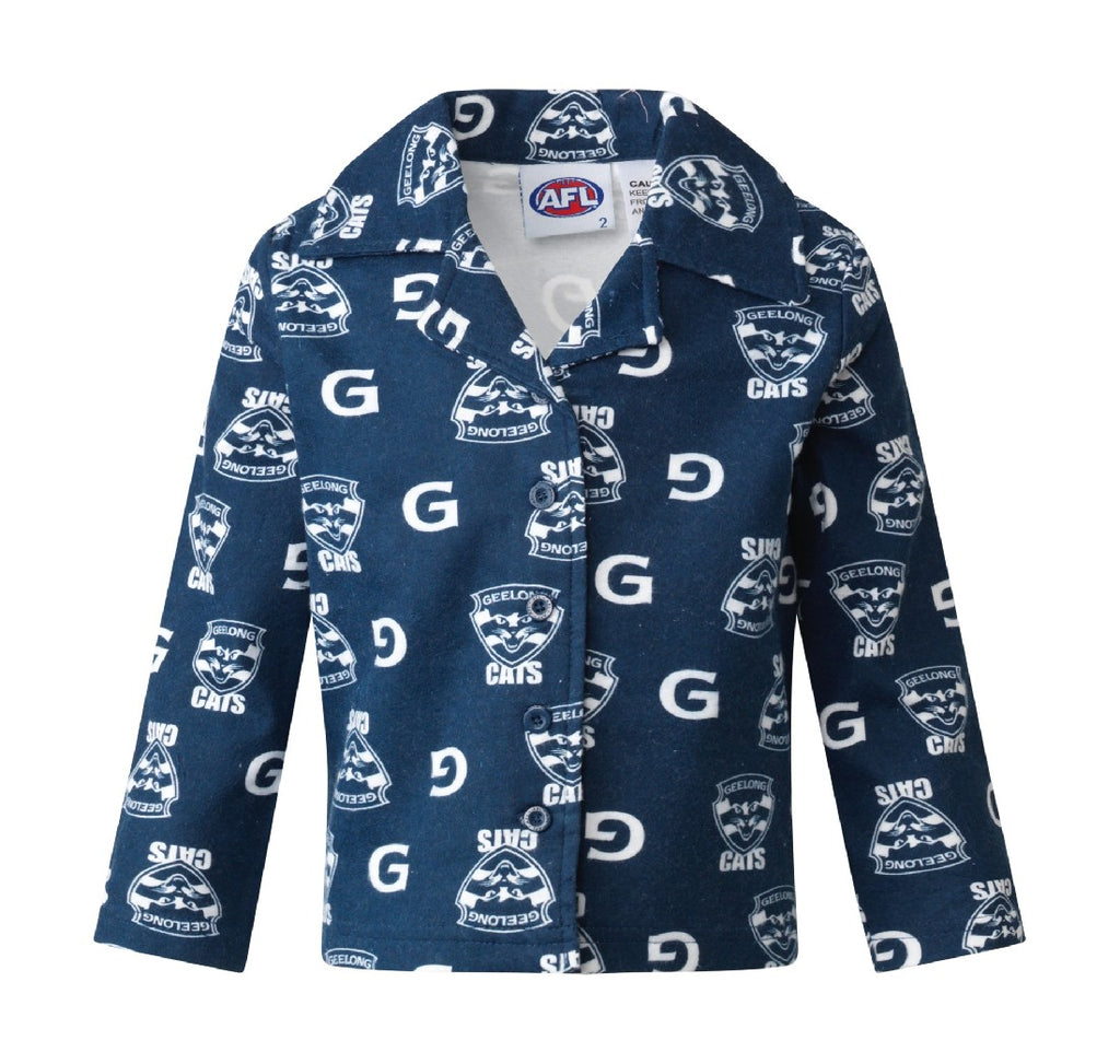 GEELONG YOUTH FLANNELETTE SET