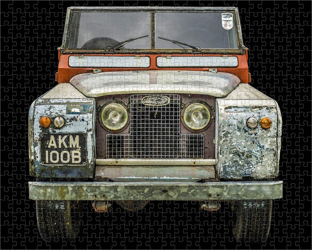 LAND ROVER 1964 SERIES IIA 500-PIECE PUZZLE