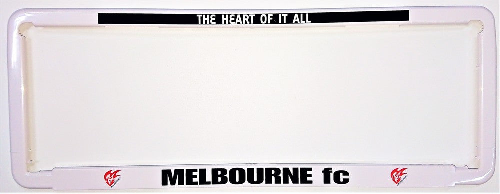 MELBOURNE NUMBER PLATE SURROUND