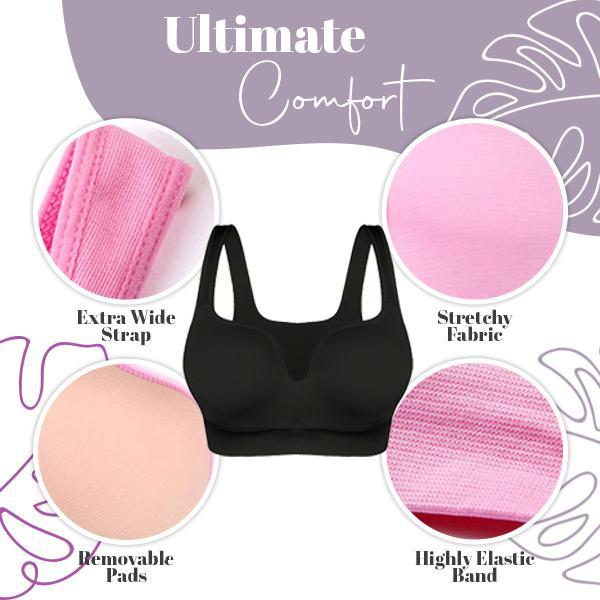 Seamless 3D Daily Comfort Shaping Bra