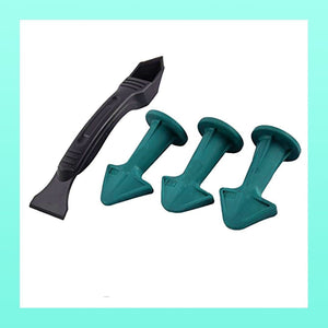 Silicone Caulking Nozzle Finisher Set - 3pcs Set