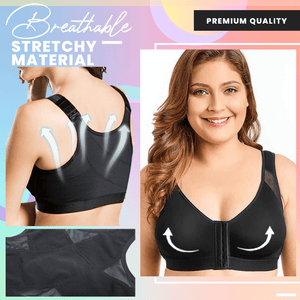 Front Buckle-Up Posture Corrector Bra