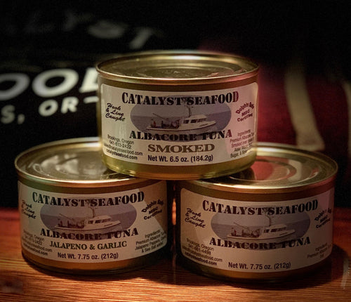 Build Your Own Variety Case of Catalyst Albacore Tuna (12 Cans)