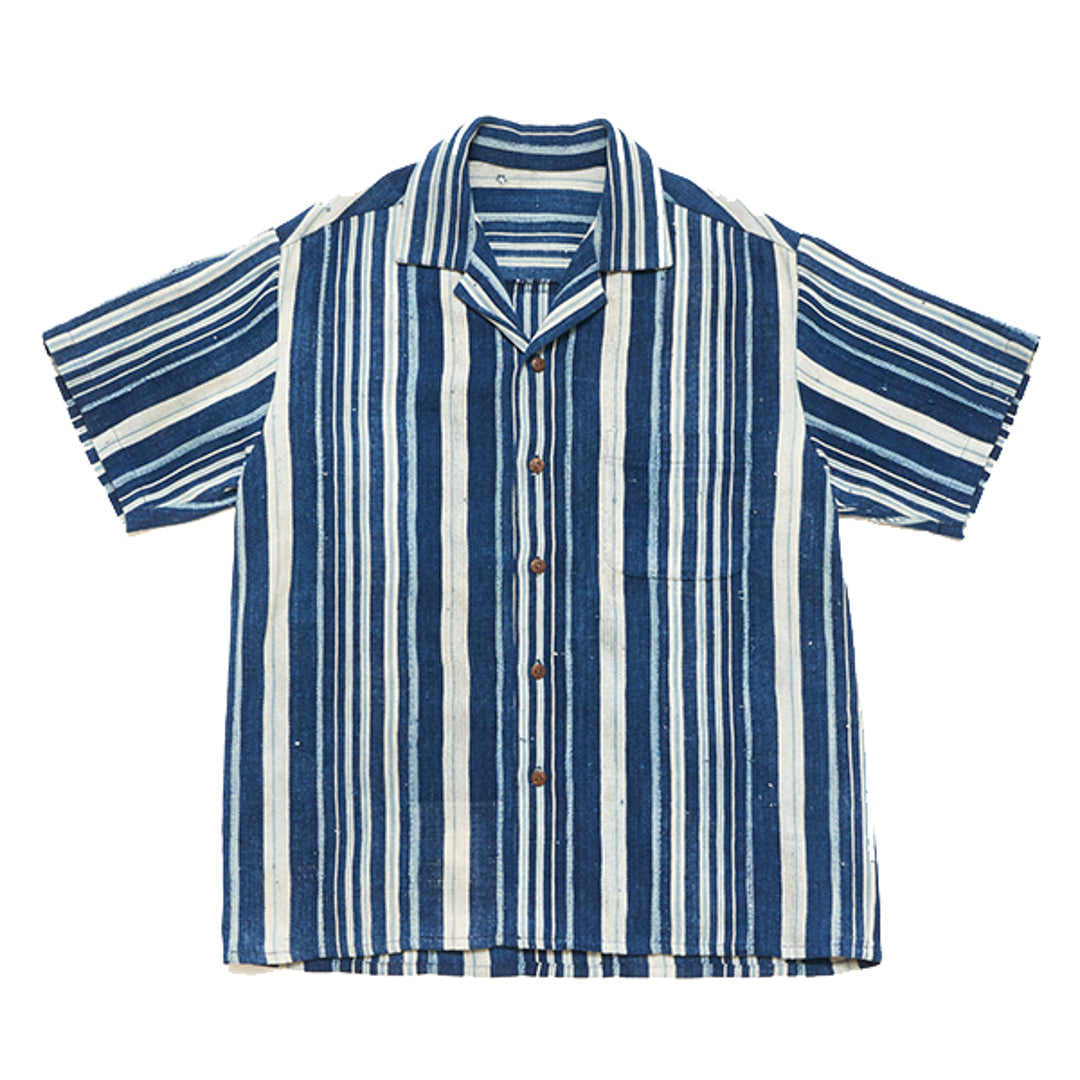 INDIGO STRIPE SHIRT