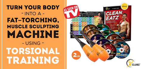 Clubz Fitness Kit 2lb- As Seen on TV