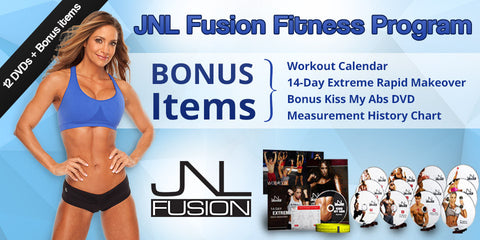 2017 Transformation - JNL Fusion 12 DVD + 2 FREE DVD'S!