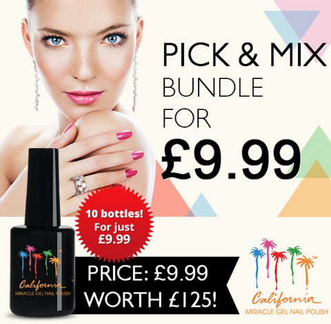 PICK AND MIX- 10x Gel Polishes for just €11.95