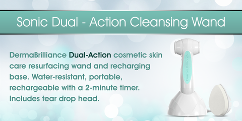 Sonic Dual-Action Cleansing Wand