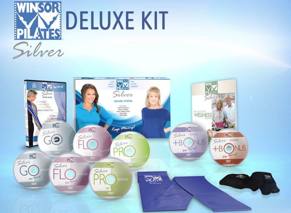 Winsor Pilates Deluxe DVD System - Exclusive Offer