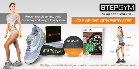 StepGym Trainers - Step Gym Toning & Weight Loss Shoes