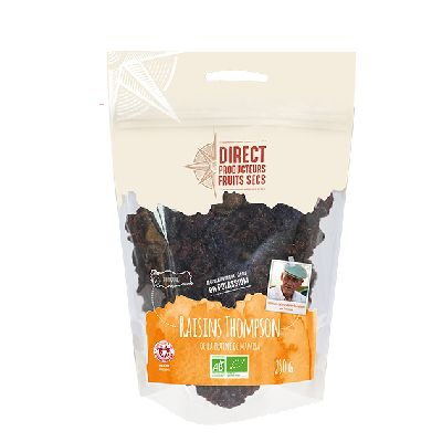 Raisins Thomson 250g  Direct Producteurs