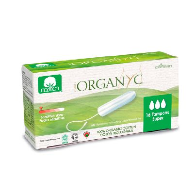 Tampon Super Ss Applicateur Compact Organyc