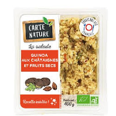 Quinoa Chataigne 400g Carte Nature
