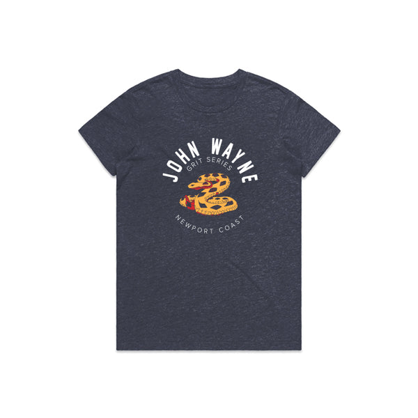 NEW PORT COAST SNAKE WOMEN'S TEE
