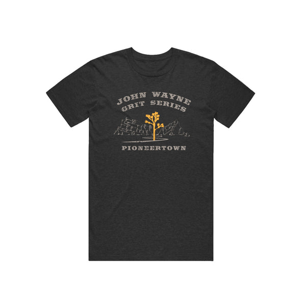 Pioneertown Exclusive Joshua Tree Tee (Heather Charcoal)