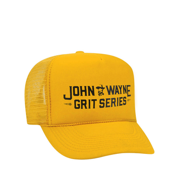 GRIT SERIES TRUCKER HAT- YELLOW