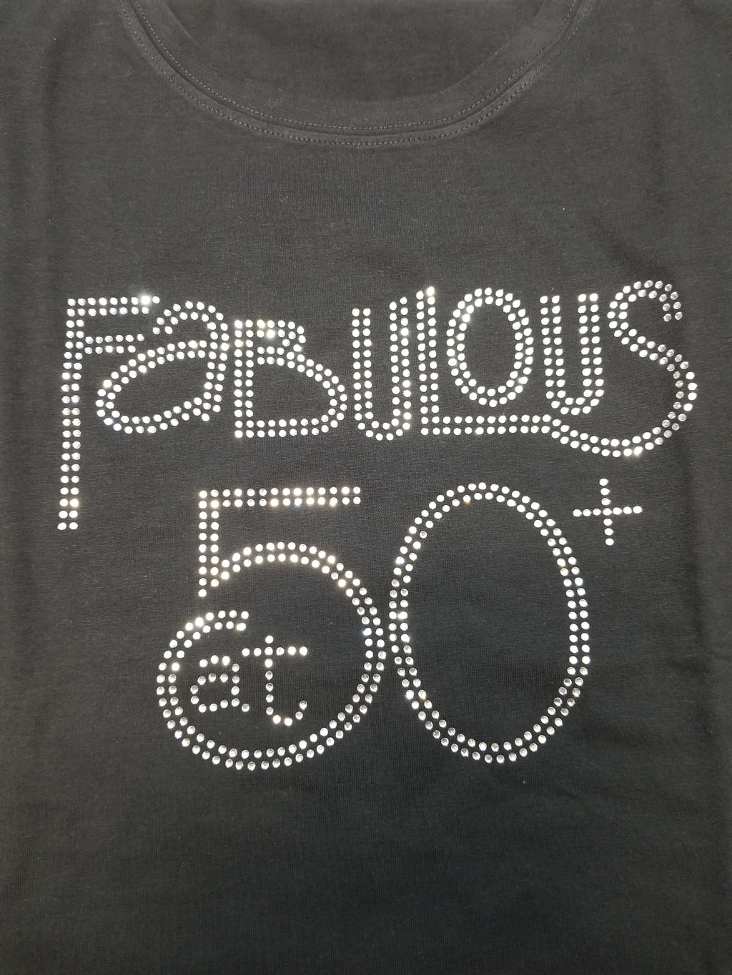 Fabulous at 50+ Bling Tee