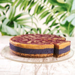 Load image into Gallery viewer, Blueberry & White Chocolate Cheesecake