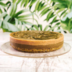 Load image into Gallery viewer, Matcha Pistachio Cheesecake