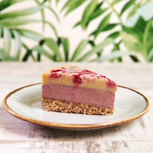 Raspberry & White Chocolate Cheesecake
