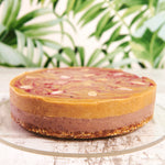 Load image into Gallery viewer, Cherry Bakewell Cheesecake