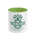 Load image into Gallery viewer, Wild Health Two Toned Mug Green