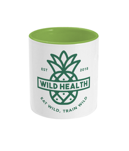 Wild Health Two Toned Mug Green