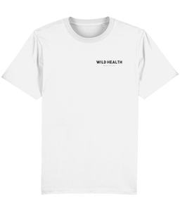Wild Health Embroidered Sparker T-Shirt - White/Black
