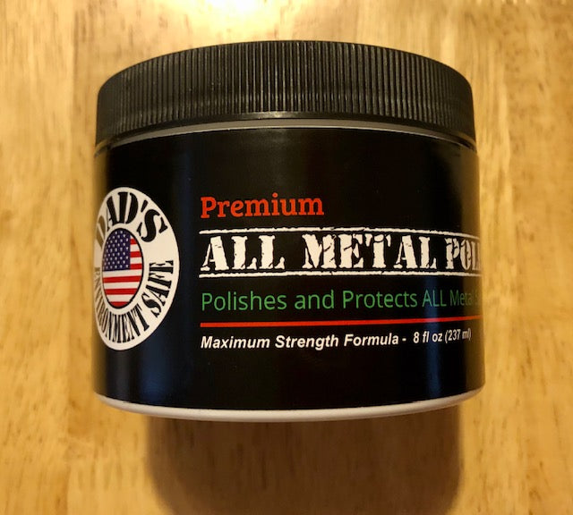 Dad's Metal Polish - Maximum Strength - 8 oz concentrate
