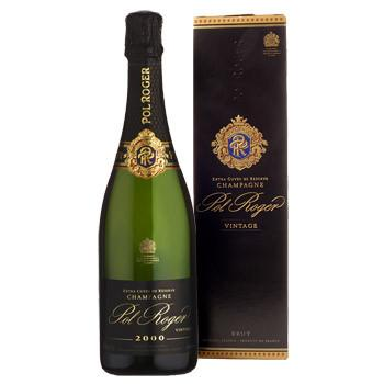 Pol Roger Extra Cuvee De Reserve Champagne 2000 75 cl