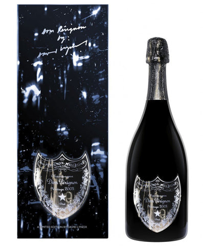 Dom Pérignon David Lynch Edition Vintage Champagne 2003 75cl, in original box