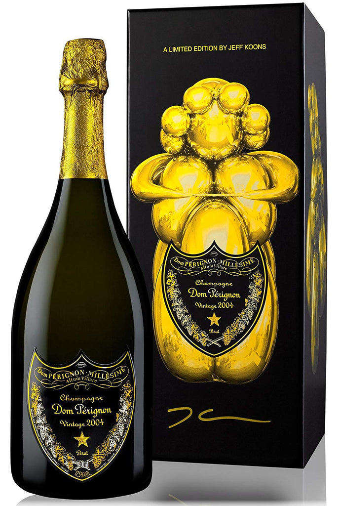 Dom Pérignon Jeff Koons Limited Edition 2004, 75cl in original Jeff Koons Box