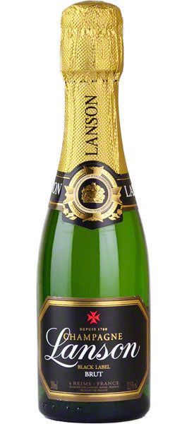 Lanson Black Label Brut Champagne  NV 20cl