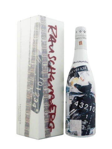 Taittinger Collection by Robert Rauschenberg, 2000 Champagne, 75cl in original presentation box