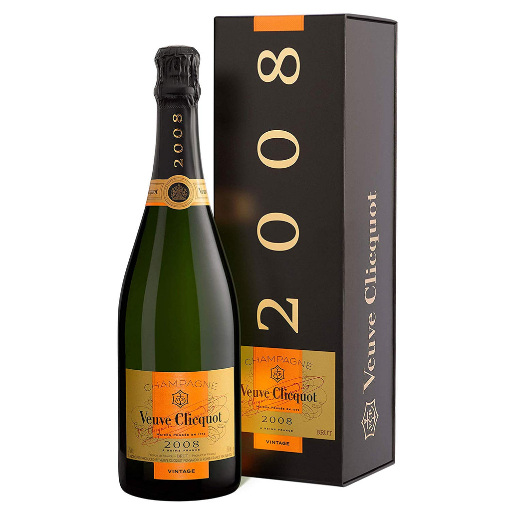 Veuve Clicquot Vintage 2008 Brut Champagne, 75cl in Gift Box