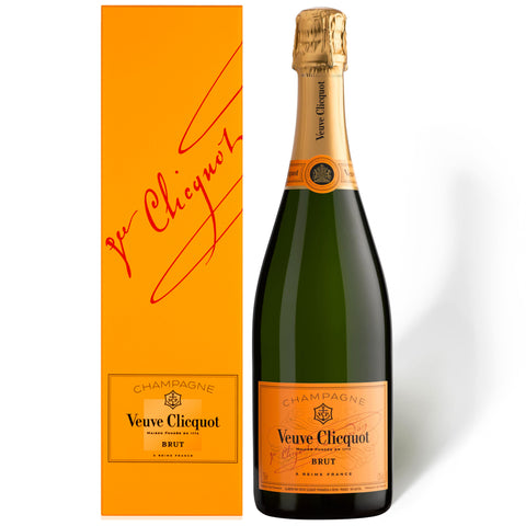 Veuve Clicquot Yellow Label Brut Champagne 75cl Gift Boxed