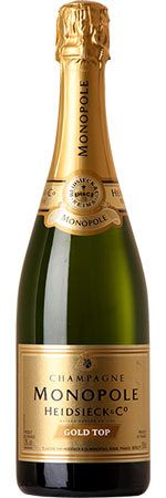 Heidsieck Monopole Gold Top Champagne 75cl
