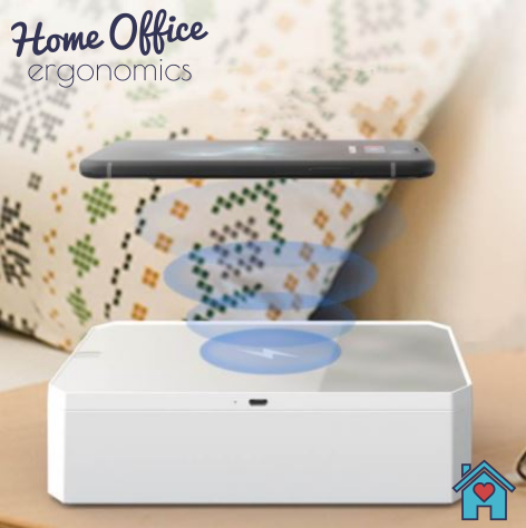 Home Office | UV Sterilising Box with 10W Wireless Charger