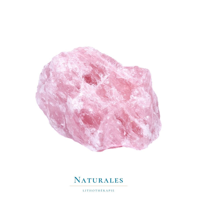 Quartz Rose - amour / dépression / insomnie - Naturales.fr