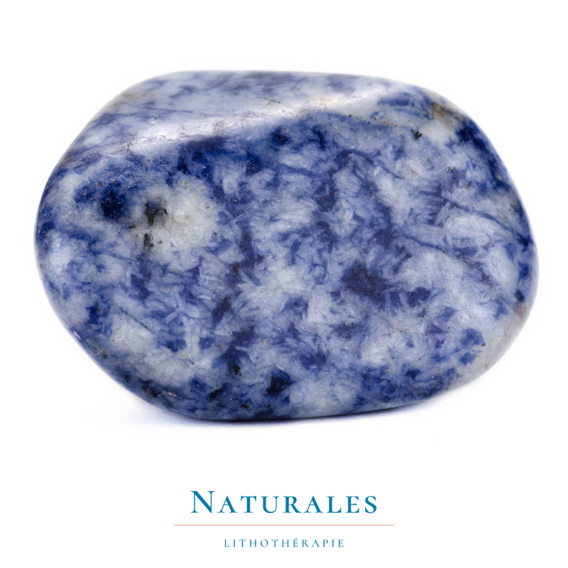 Sodalite roulée - Naturales.fr