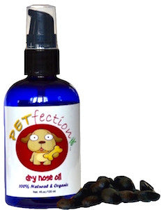 Natural Organic Chemical Free Dry Nose Oil for Pets