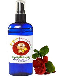 Chemical Free Organic Dog Bug Repellent Spray