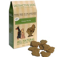 Chicken Pot Pie Dog Treats