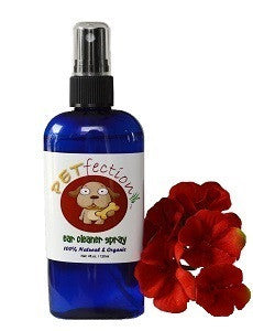 Organic Ear Cleaner Spray and Wash for Dogs and Cats