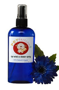 Organic Soothing Eye Wash and Cleaner Spray for Pets